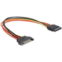 Delock Extension кабель Power SATA 15 Pin...