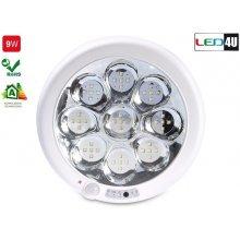 Maclean Ceiling LED4U ACU pir