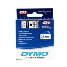 Tooner Dymo 53710 Farbband 24mm, must auf