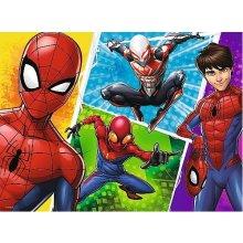 TREFL Puzzle 30 pcs Spiderman i Miquel