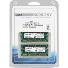 Mälu Crucial 4GB (2x2GB) DDR2 667MHz...