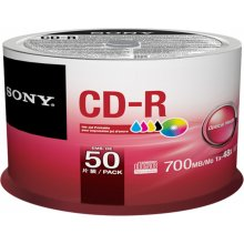 Toorikud Sony CD-R 700 MB (80 min) | 48x...