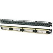 Mcab CAT6 24-Ports, Patch Panel