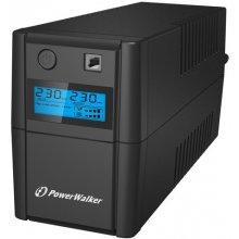 UPS PowerWalker LINE-INTERACTIVE 850VA 2X...