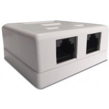 ASSMANN Surface mount box Cat.6 UTP 2 port...