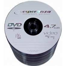 Диски ESPERANZA DVD-Rx16 4,7GB spindle 100