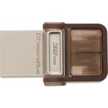 Флешка KINGSTON 32GB DT MicroDuo USB 2.0