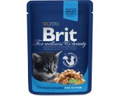 Brit Premium Chicken Chunks for Kitten 100g