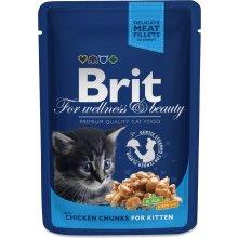 Brit Premium Chicken Chunks for Kitten 100g