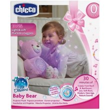 CHICCO Bear koos pink projector