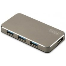 DIGITUS USB 3.0 Hub 4-Port inkl. 5V/2A...