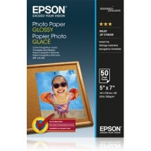 Epson Photo Paper Glossy 13x18 cm 50 Sheets...