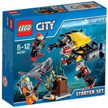 LEGO City Podwodny świat zest. startowy