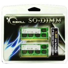 Mälu G.Skill SO DDR3 8GB PC 10666 CL9 1,35V...