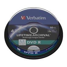 Toorikud Verbatim 1x10 M-ketas DVD R 4,7GB...