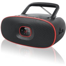 Muse MD-202RD Black/Red, Portable radio CD...