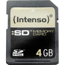 Флешка INTENSO SDHC Karte 4GB