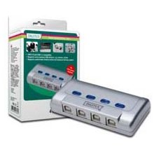 Assmann/Digitus USB 2.0 Sharing Switch, 4PC