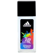 Adidas Team Five, Deodorant 75ml, Deodorant...