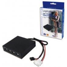 LogiLink USB-HUB 4-Port 8.9cm must intern