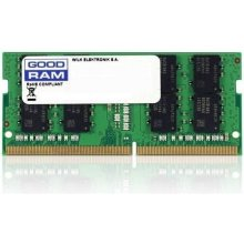 Mälu GOODRAM DDR4 SODIMM 4GB/2666 CL19