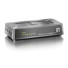 LevelOne 5 Port Mini Fast Ethernet Switch...