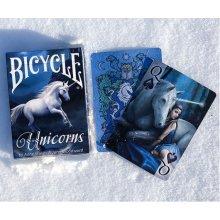 Bicycle kaardid Anne Stokes Unicorns