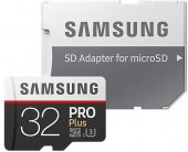 Samsung 32GB MicroSD C10U3 Pro + 100R /90W