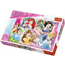 TREFL Puzzle 100 pcs - Disney Princess...