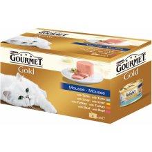 Gourmet Gold для кошек - паштеты, 12...