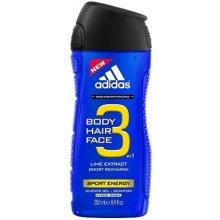 Adidas 3in1 Sport Energy, dušigeel 400ml...