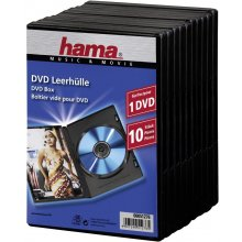 Диски Hama 1x10 DVD-Jewel Case black 51276
