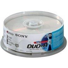 Диски Sony DVD+R 16x, 25, 4.7, DVD+R...