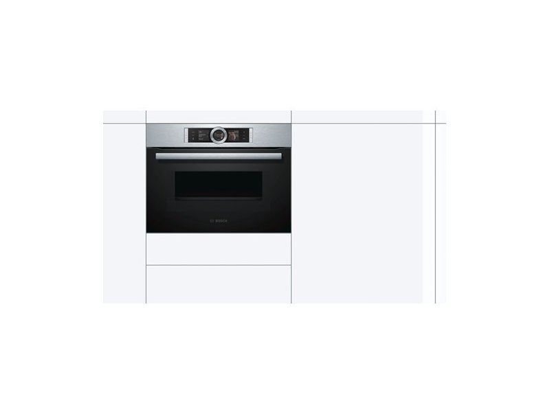 Bosch Cmg636bs1 Compact Oven With Microwave Product Images Are For Ilrative Purposes Only