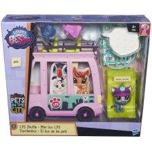 HASBRO Littlest Pet Shop Zwierzakowy autobus
