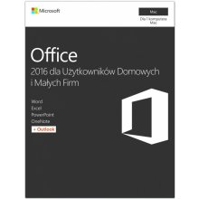 Microsoft Office Mac 2016 Home & Business PL...