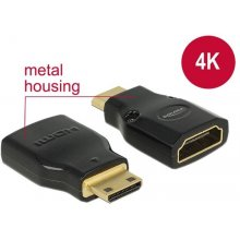 Delock адаптер HDMI Mini-C(M)->HDMI(F) High...