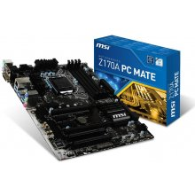 Emaplaat MSI Z170A PC Mate