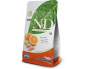 Farmina N&D Cat Adult - fish & orange - 5kg...