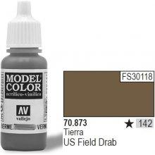 Vallejo Farba Nr142 US F ield Drab 17mlMatt