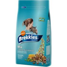 Brekkies Excel cat Mix Fish 1,5kg