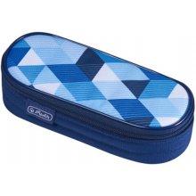 HERLITZ Faulenzer Etui Blue Cubes