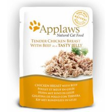 Applaws Jelly Eine kotike Chicken & Beef...