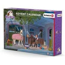 Schleich Advent calendar, a stable с horses