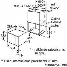 Микроволновая печь BOSCH HMT75M654