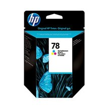 Тонер HP INC. HP 78 Tri-colour Inkjet Print...