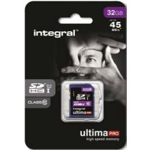 INTEGRAL SDHC 32GB CLASS10 - AVERAGE...