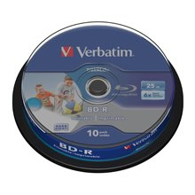 Verbatim BD-R SL 25GB 6X 10PK