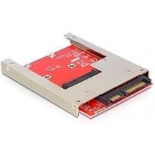 Delock SATA адаптер SATA 22pin -> mSATA...