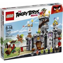 LEGO Angry Birds Castle pig King